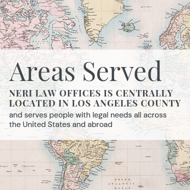 Immigration Attorney Paola I. Neri Areas Served