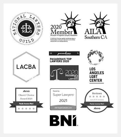 immigration attorney Paola I. Neri awards and recognition